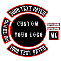 Custom Designs Embroidery Patches Any Size Any Logo Quality Embroidered Patches Supplier iron on and stick