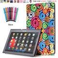 Цветная Печать ПУ Кожа Case для Lenovo Tab 2 A10-70 A10-70F A10-70L А10-30 X30F 10.1 дюймов Tablet PC Smart Крышка Сна Услуга до