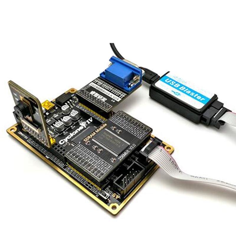Altera FPGA Kit de carte de développement CYCLONE IV EP4CE carte centrale + Module caméra + Module VGA + USB Blaster + Module SDRAM Ata010