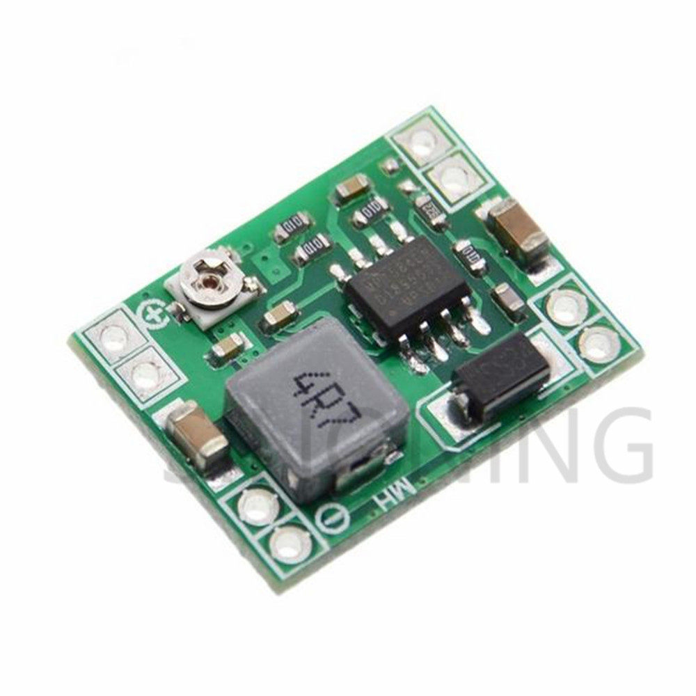 1PCS Ultra-Small Size DC-DC Step Down Power Supply Module 3A Adjustable Buck Converter For Arduino Replace LM2596