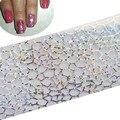 1x Nueva Transfer Art Nail Fashion Láminas Wraps Polacos Stickers Glitter Punta Etiquetas Del Clavo de DIY Decoración Manicura Herramientas STZXK17