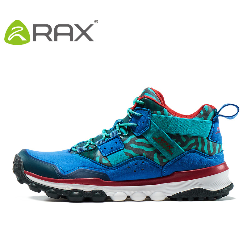 RAX Men's Hiking Shoes Surface Waterproof Hiking Boots For Men Women Outdoor Breathable Walking Shoes For Men Winter Boots rax women s hiking shoes waterproof hiking boots men outdoor breathable walking sneakers winter boots women mountain climbing