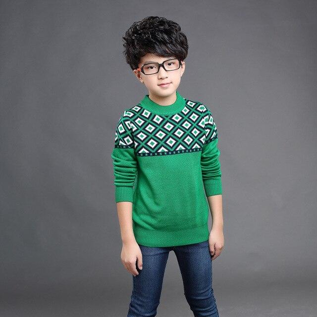 10db3deda Cardigan for Boys 2018 Brand Design Wool Cotton Knitwear Winter Kids ...