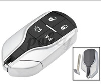 For Maserati 4 Button High Quality Smart Keless Entry Remote Key Shell Case Fob