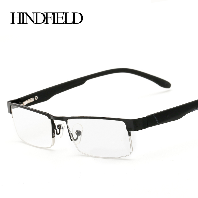 HINDFIELD 2016 Alloy Half Reading Glasses Women Men Prescription Lenses +100,+200,+300,+400 CJ131