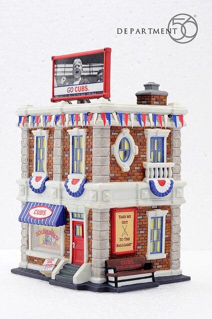 a446739cda Chicago Cubs Souvenir Shop Ceramic Handcrafts Modern Home Furnishing Living  Room Night Light House Ornaments