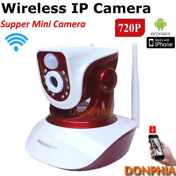 ФОТО Home security system Wireless PIR IP Camera 720P Rotation Angle baby moniotr WIFI P2P IR Night view CCTV Camera Plug and Play