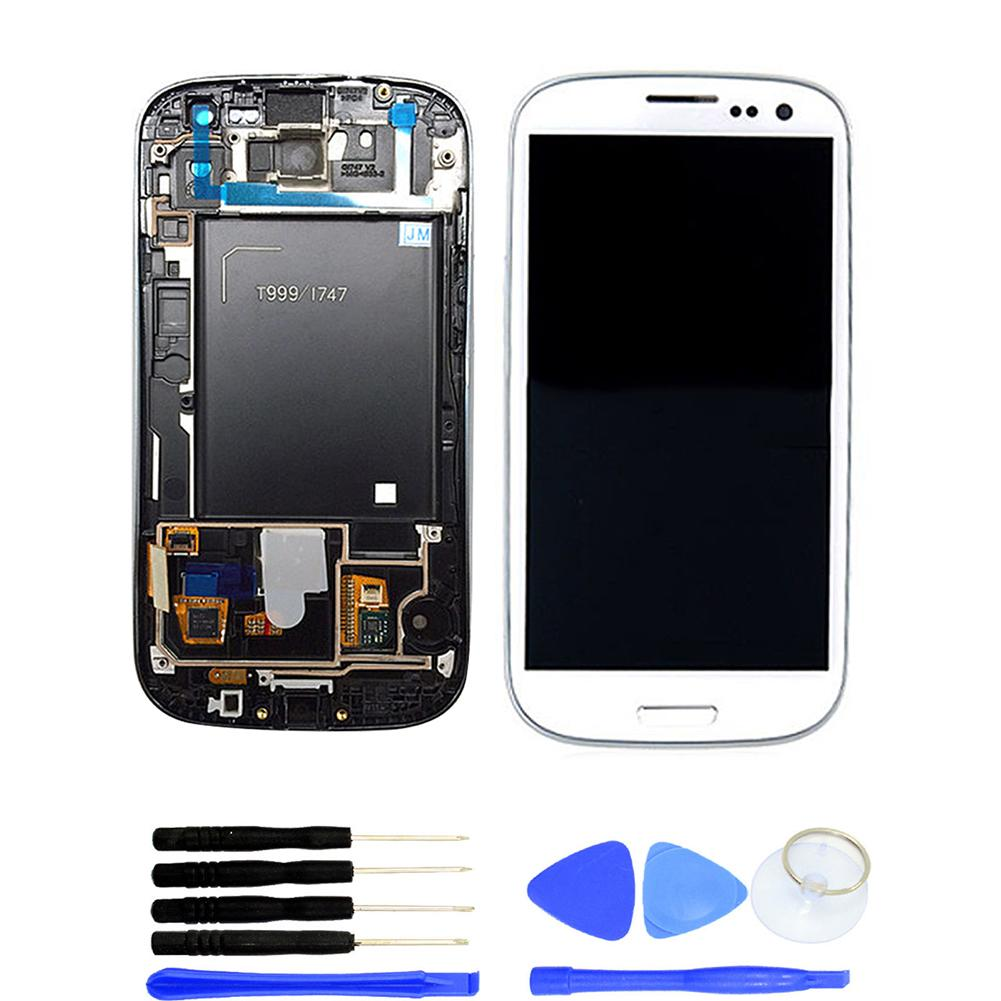 Replacement Parts LCD Touch Screen Digitizer for Samsung Galaxy S3 T999 I747 Phone AccessoriesReplacement Parts LCD Touch Screen Digitizer for Samsung Galaxy S3 T999 I747 Phone Accessories