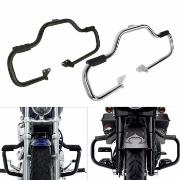 Motorcycle 1 1/4 Engine Guard Crash Bar For Harley Softail Heritage Fat Bob Low Rider Dyna Wide Glide Super Glide Switchback motorcycle 1 1 4 engine guard crash bar for harley softail heritage fat bob low rider dyna wide glide super glide switchback