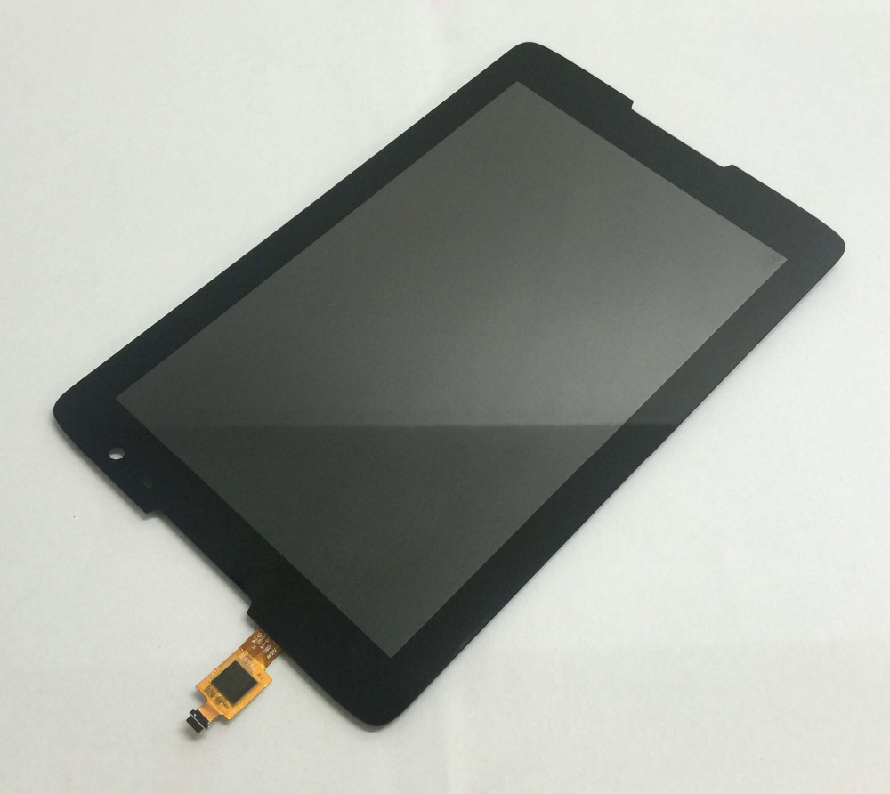 LCD Display Panel Monitor + Touch Screen Digitizer Sensor Panel Assembly For Lenovo IdeaTab A8-50 A5500 A5500F A5500-H A5500-HV free shipping original a8 50 a5500 hv claa080wq05 b080ean02 2 lcd screen external screen touch screen