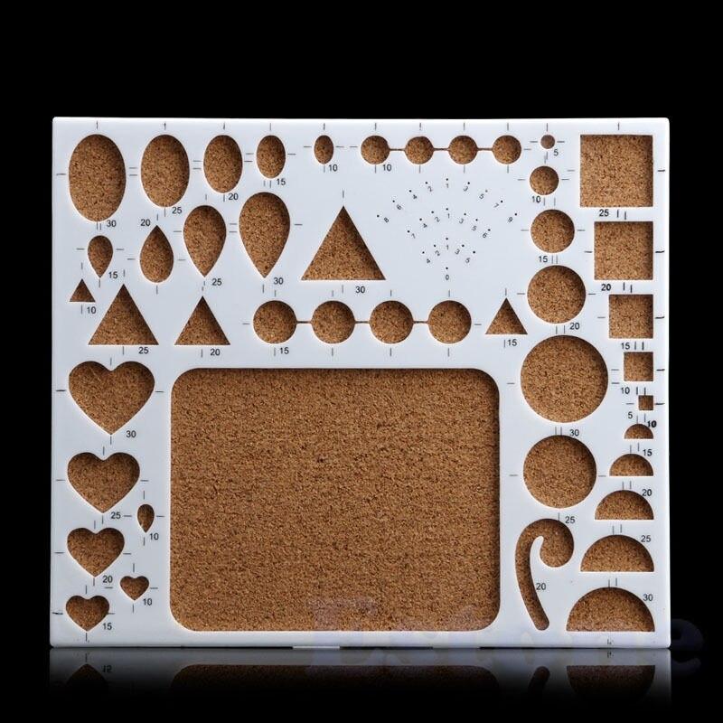 ᐅNueva 1 unid papel quilling herramienta DIY papercraft plantilla ...
