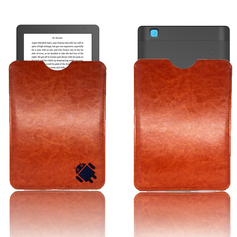 20cc0e4cd6 Ultra slim light weight cover case for Kobo Aura One 7.8 inch ebook reader  ereader PU leather sleeve-in Tablets   e-Books Case from Computer   Office  on ...