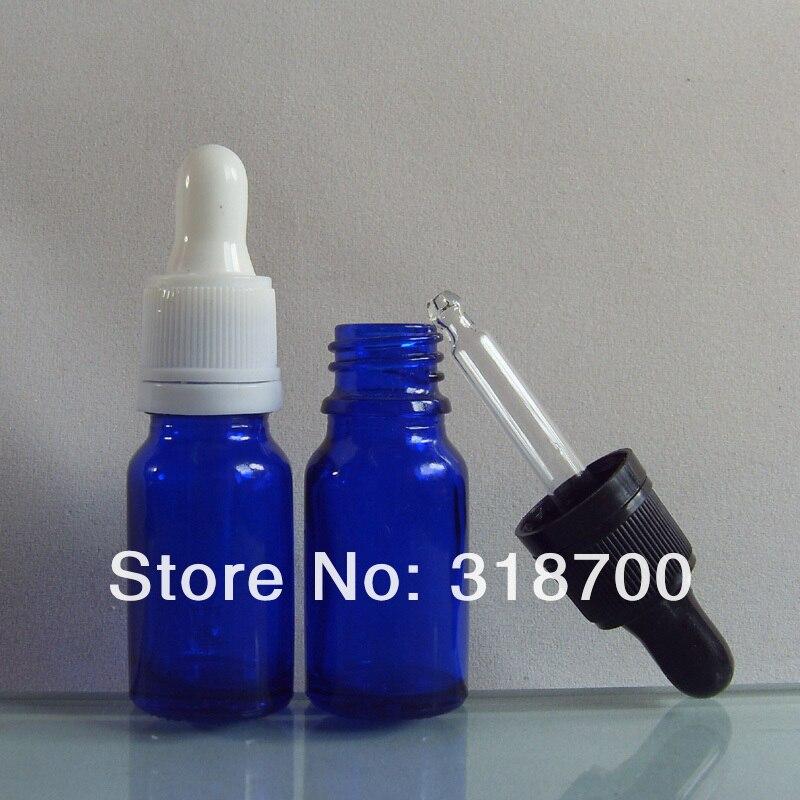 200/лот DIY 10 мл, синее стекло бутылка эфирного масла с капельница с контролем вскрытия, 10cc синий флакон-капельница