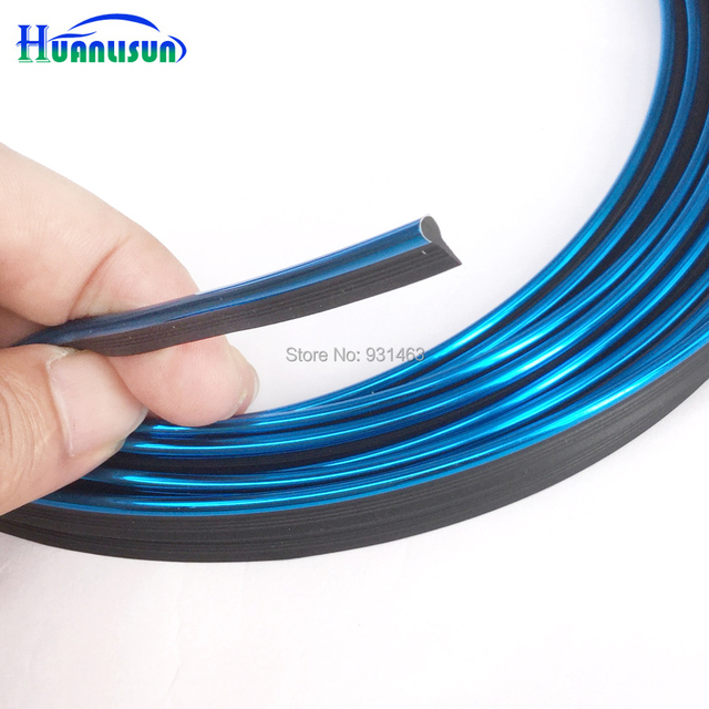 HUANLISUN 2metres Universal Car Styling Flexible Trim For Car Interior  Exterior Moulding PVC Decorative Strip