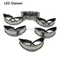 Wholesale 10 pieces led glasses Rave led glow glasses party for Easter Christmas Halloween Birthday Night Bar Dance Decoration