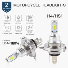 1 Set Motocycle Headlights H1 H3 H4 P15 BA20D H7 H9 H11/H8 9005 9006 880 881 1500LM/Bulb 6500K Super Bright Head Lamp