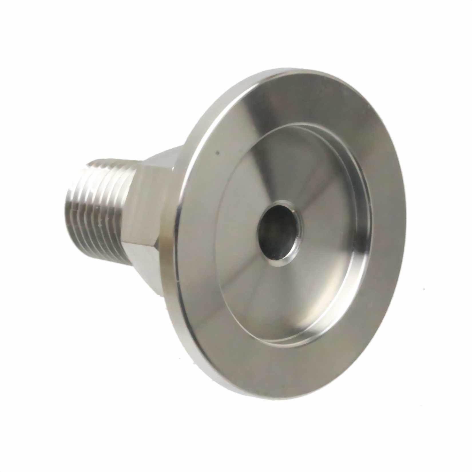 Stainless Steel Adapter KF-25 to 3//4 in Female 304 ISO-KF Flange Size NW-25 PT-Female