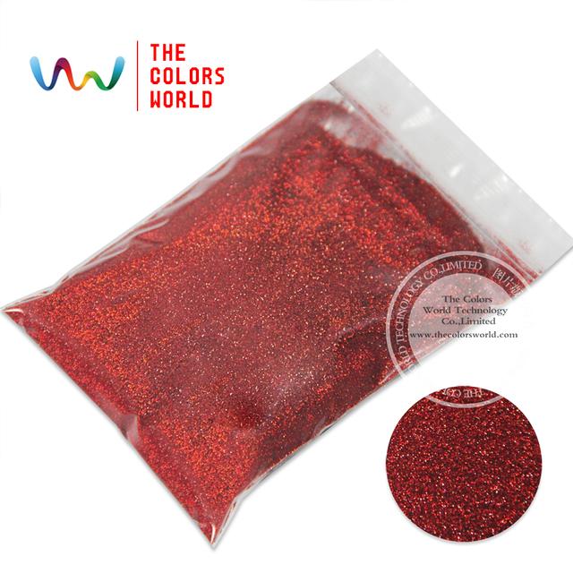 """Tca300 láser de Color rojo 0.1 MM 004 """" escarcha polvo, especular lustre brillo de uñas, tatto, decoración del arte y otros"""