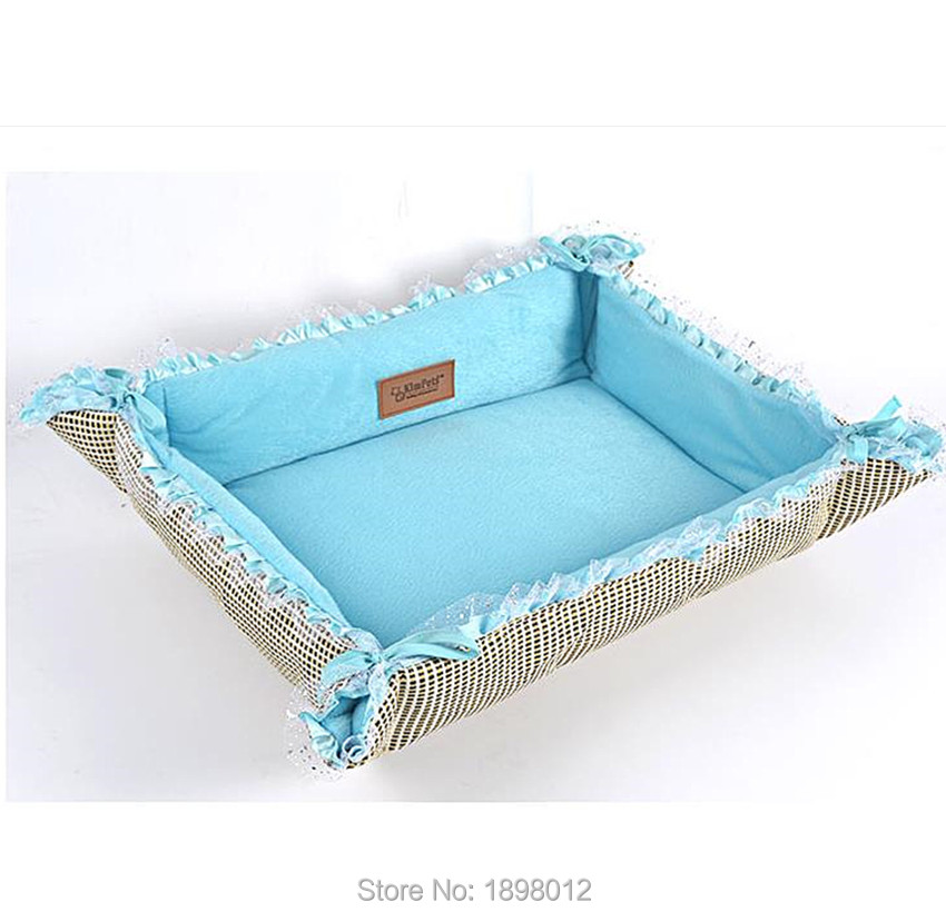 Foldable Pet Blanket Bed Warm And Cool Kennel 2 In 1 Mat