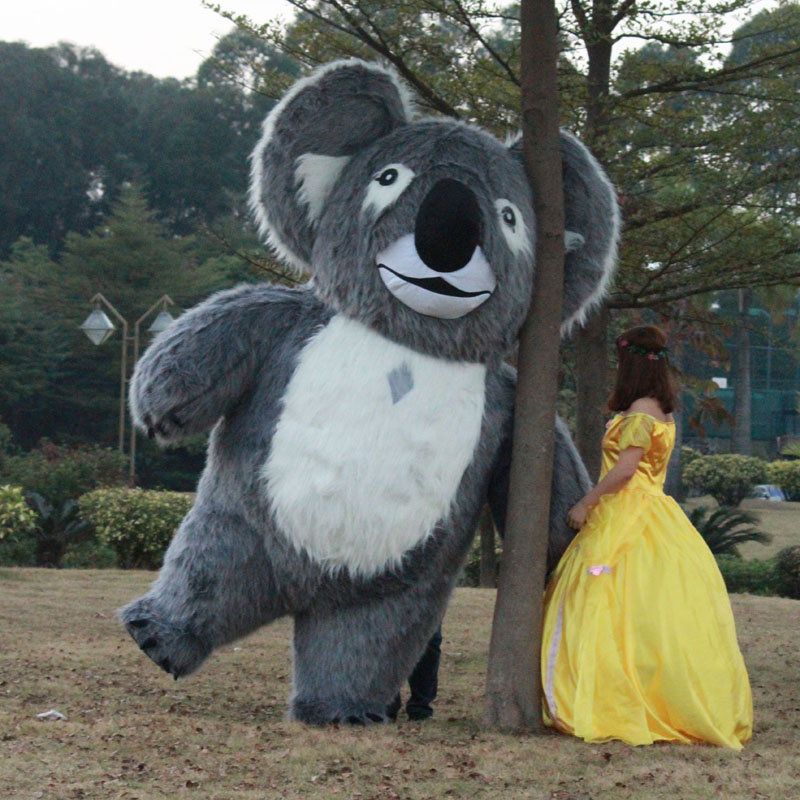 Koala Inflatable Costume For Advertising Animal Inflatable Costume Inflatable Koala Mascot For Advertising 2M Or 2.5M Tall