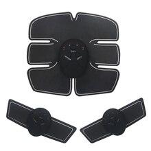 EMS Sans Fil Électrique Stimulateur Musculaire Abdominale Stimulation  Musculaire Exerciseur Formation machine amincissante massage de remise cd1234425fd