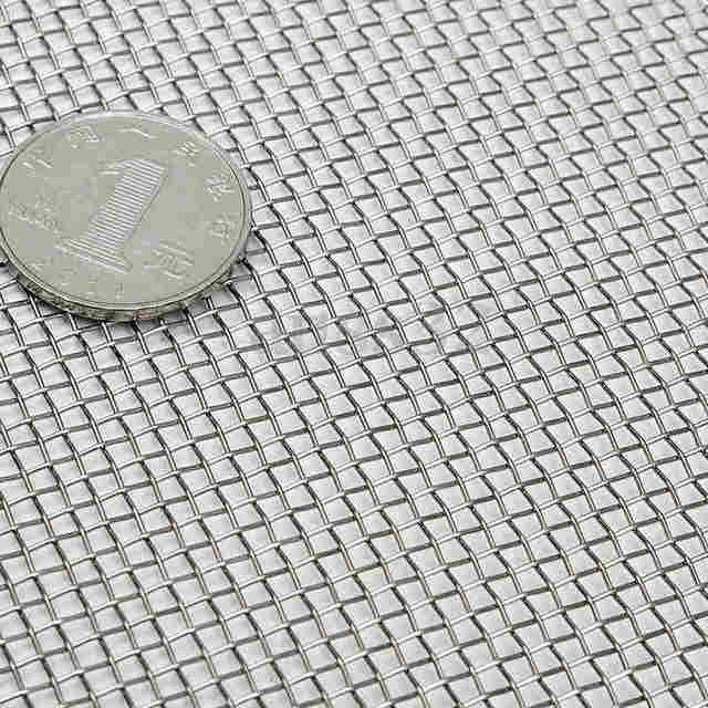 Stainless Steel Wire Cloth | Stainless Steel 10 Mesh Filtration Water Resistant Woven Wire Cloth