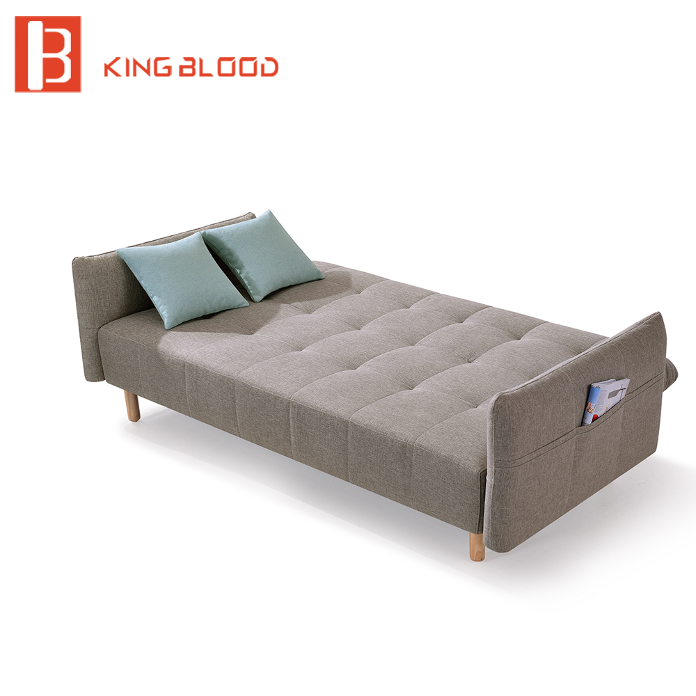 Product Description single wooden transformer hospital futon fabric sofa bed Features 1.Frame:100% Solid Ash wood with black op
