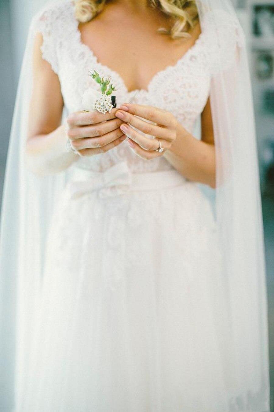 Vestido De Noiva De Renda 2016 Bohemian Wedding Dresses Long Cheap ...