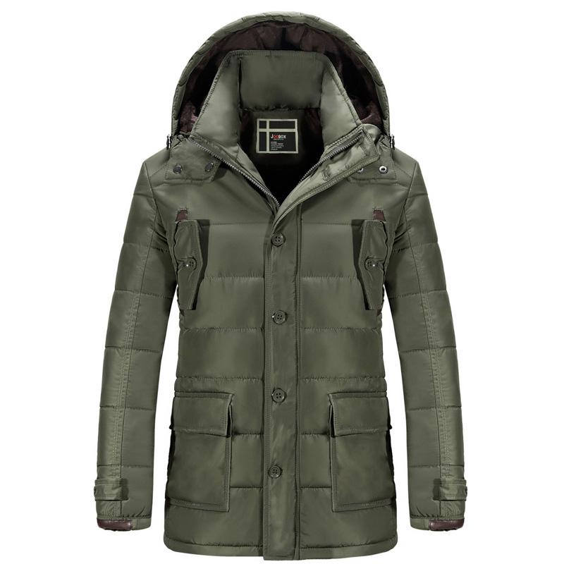 Men Winter Down Hooded Parkas Snow Warm Thick Long Chaqueta Homme Brand Casual Slim Fit Jacket Coats SL-E428 hooded detachable winter warm men coats brand design snow thick outdoor down parkas casual slim fit cotton trench coats f1210