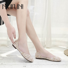 Low Heel Plus Size 35-42 Fashion Flat Shoes 2019 New Womens Sandals Casual Female Slip Ons Comfortable Soft Ladies