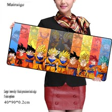 Mairuige  HOT Selling Dragon Ball  Notbook Computer Large Mouse Pad Gaming Mouse Mats To Mouse Gamer XL 900*400/800*300/600*300