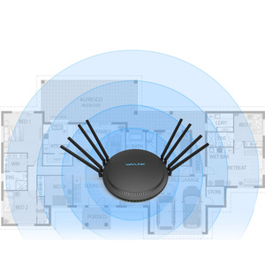 Image 5 - Wavlink מלא Gigabit AC3000 אלחוטי wifi נתב/משחזר MU MIMO tri band 2.4/5Ghz חכם Wi Fi נתב touchlink USB 3.0
