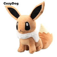 45 cm Pikachu Series Figure Eevee Plush Toy Japanese Cartoon Soft Stuffed Dolls Anime Eevee Peluche Toys Children Birthday Gift