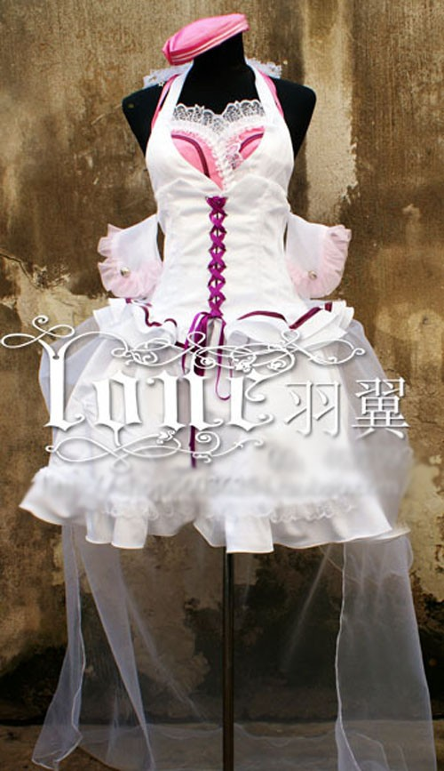 Macross Frontier Sheryl Nome Cosplay Costume Halloween Uniform Party Dress
