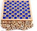 Деревянные Игрушки Монтессори Сто Совета 1-100 Последовательных Чисел Деревянные Развивающие Игры с Хранения Сумка Для Детей Дети
