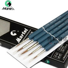 Купить онлайн Martol G1225 ласка волос акварельные краски, кисти scriptliner крюк линия пера картина поставки 5 шт./компл.