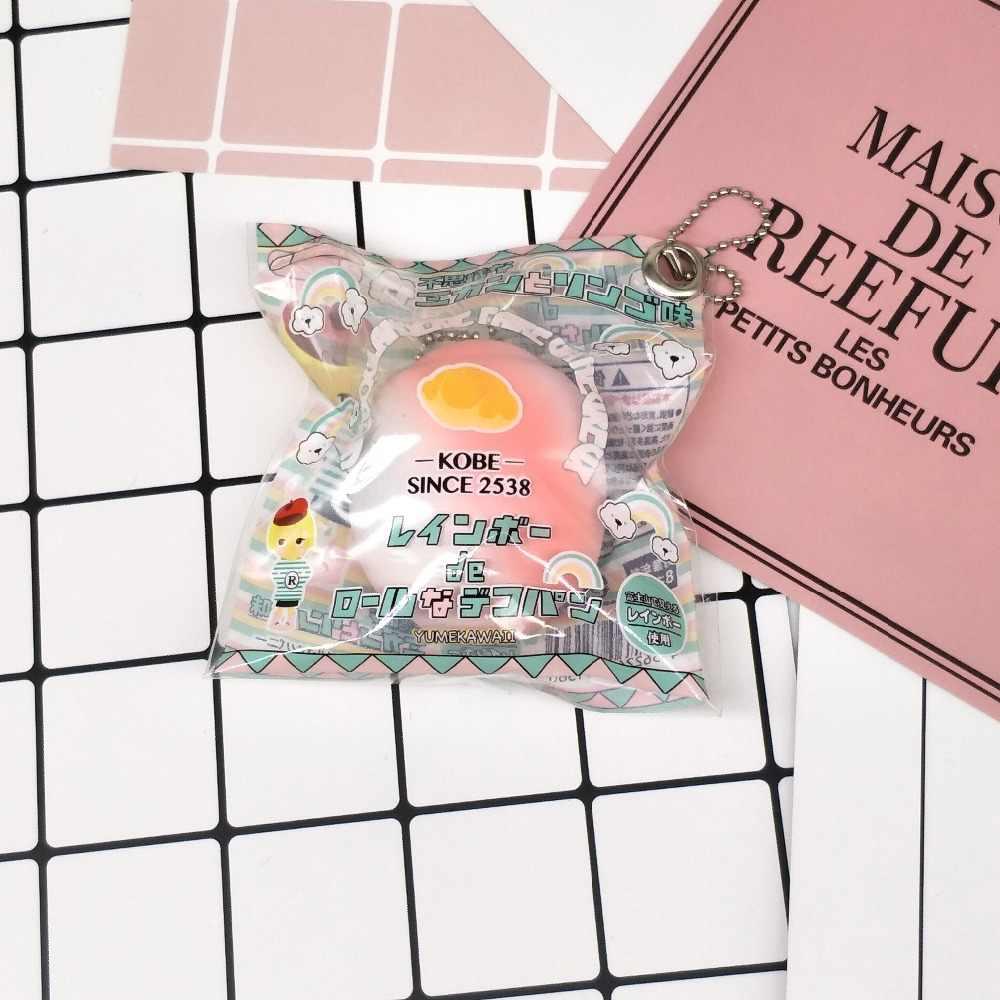 Kuutti мягкое 30 шт. в партии Kawaii Радужное разноцветное мягкое булочное мягкое ароматическое Оригинальное упаковочное кальянное пекарня прекрасный ремешок в подарок