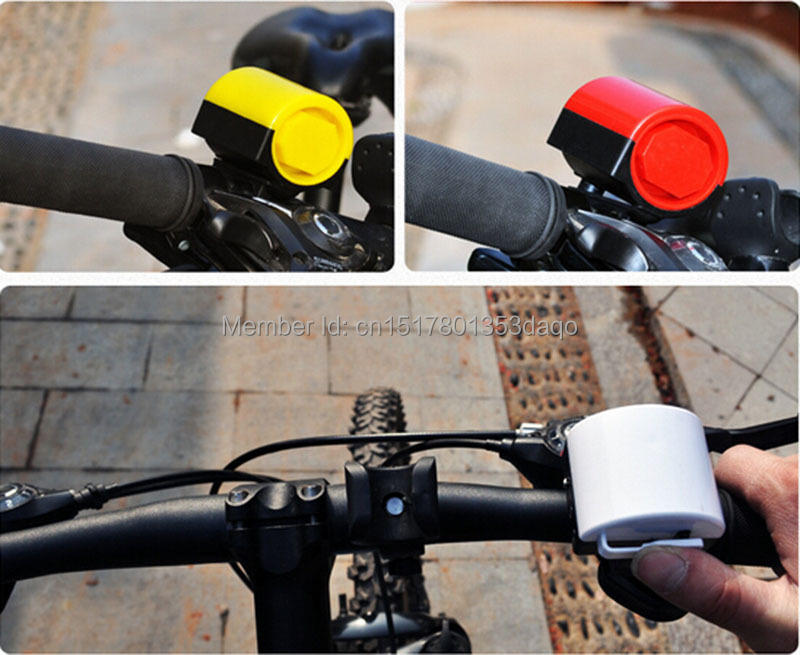 Colorful Bicycle Bike Electronic Bell Ultra-loud Electronic Ring 5 Color Optional Bike Cycling Electric Horn Bicycle Accessories