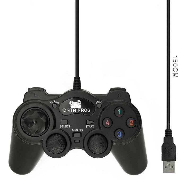 HOT Wired USB 2.0 μαύρο Gamepad Joystick Joypad Gamepad - Παιχνίδια και αξεσουάρ - Φωτογραφία 2