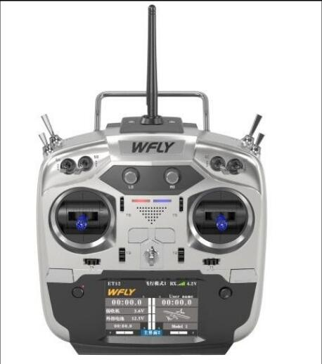 New Arrivals WFLY ET12 2.4GHz Remote Controller 12CH with RF209S Receiver For RC models Fixed wing-in Parts & Accessories from Toys & Hobbies    1