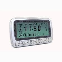 1 шт. Al-harameen цифровые часы с азаном Athan настольные часы Ha3007 мусульманский стол Azan настольные часы Подарки для мусульман