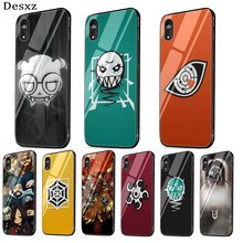 Mobile Phone Case Cover For iPhone X XS Max XR 6 6S 7 8 Plus 5 5S SE Cover Rainbow Six Siege 6 Shell Glass(China)