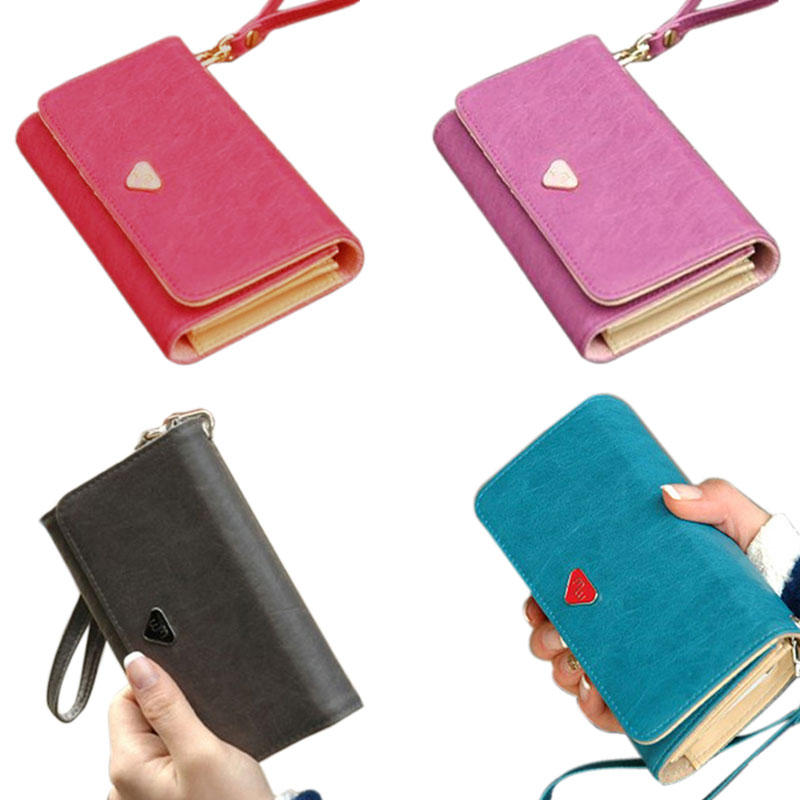 Envelope Bag Lady Handbag Wallet Shield Cell Phone Case Cover For Samsung Galaxy S3 I9300 4