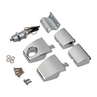 New Tour Pack Pak Latches For Harley Touring Electra Road Street Glide 2006 2013