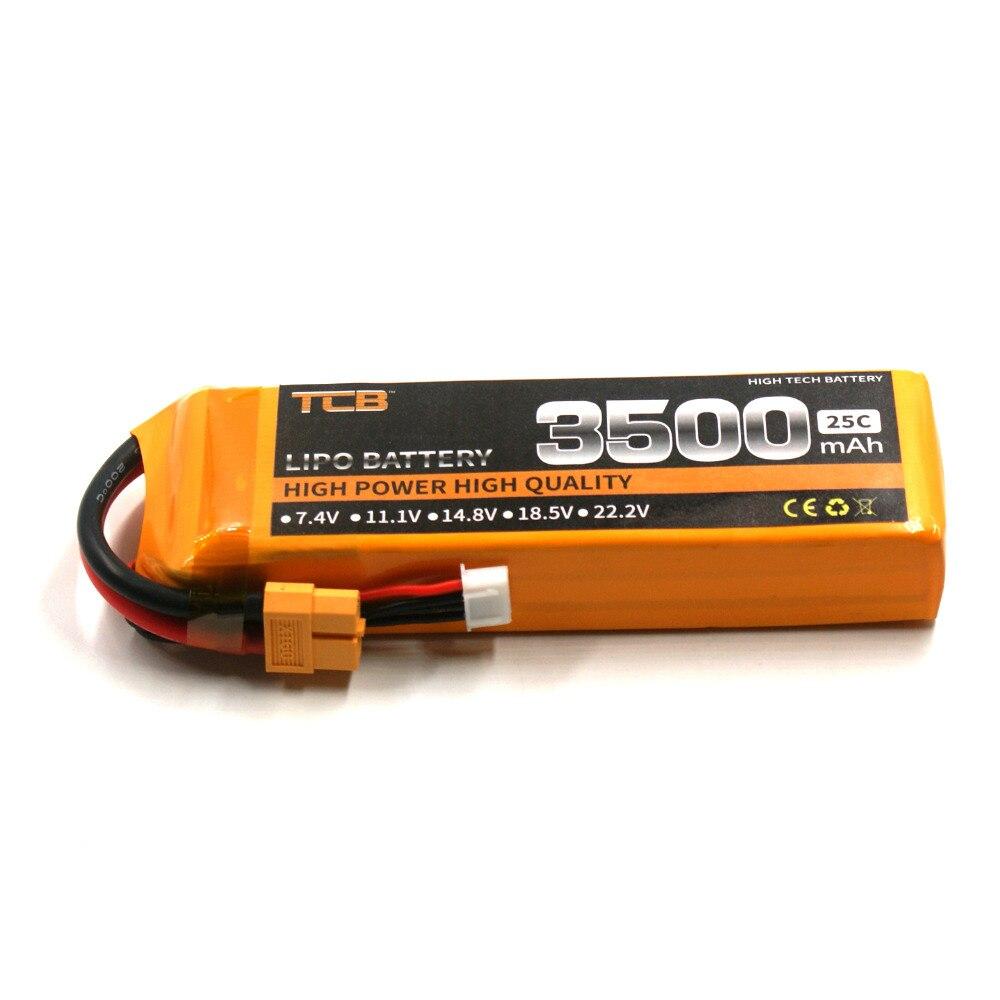 TCB RC lipo batterie 11.1 v 3500 mAh 25C 3 s POUR RC avion voiture drone AKKU livraison gratuite