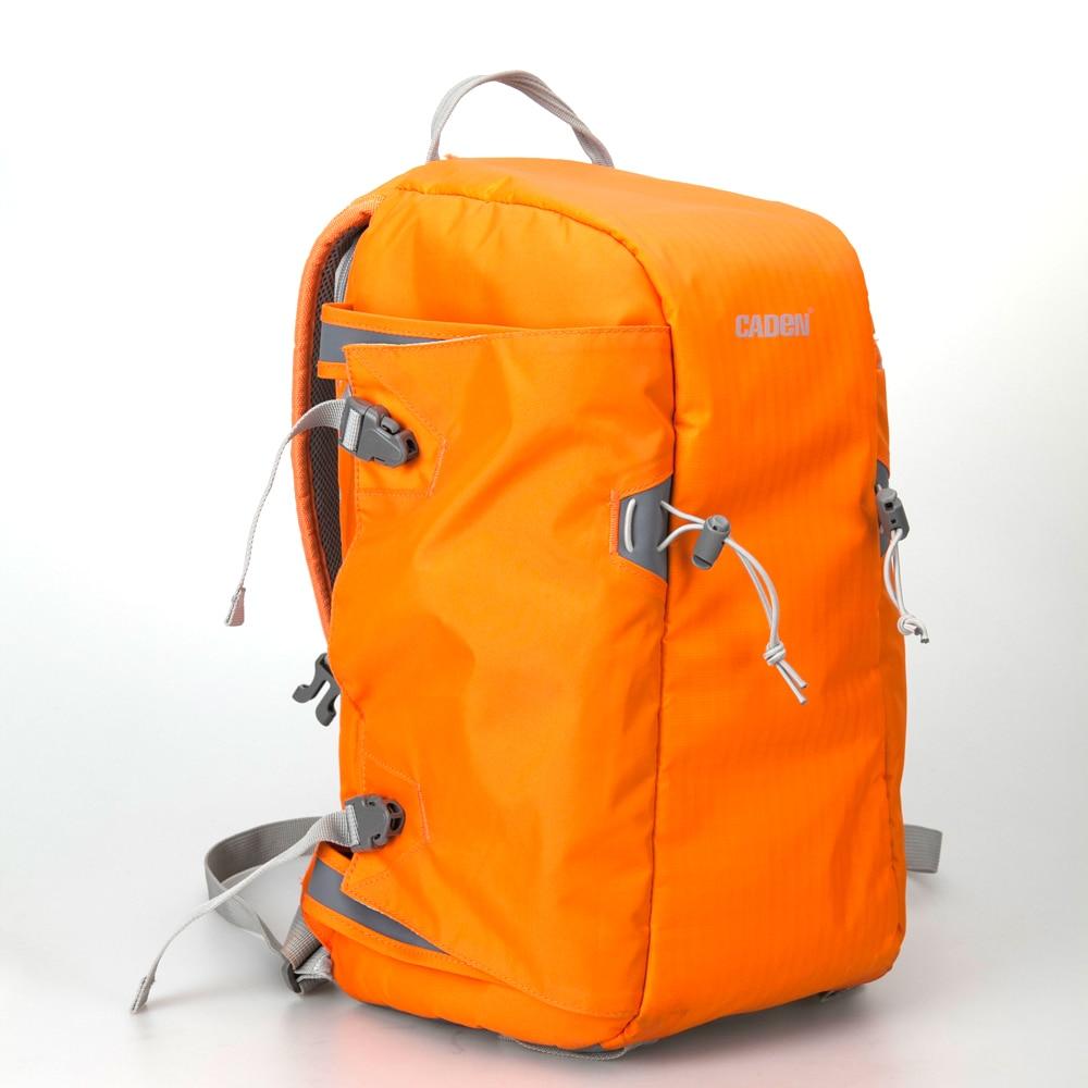 Detail Feedback Questions about Caden E5 Orange Camera DSLR Tripod Photo  SLR Shoulders Leisure Bag   Rain Cover Bag Travel Backpack Case for Canon  Nikon ... 133efbcf1dfe3