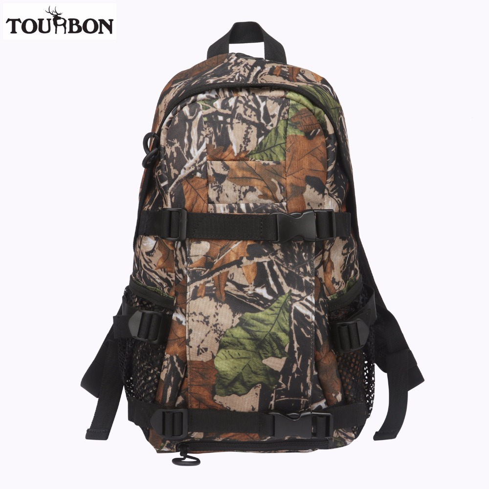 Tourbon Nylon-Bag Hunting-Backpack Shooting Tactical Hiking Outdoor for Travelling W/large-Capacity