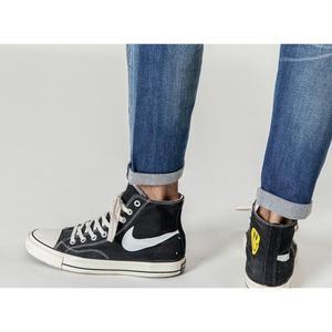 Image 5 - SIMWOOD 새로운 2020 청바지 남성 패션 데님 발목 길이 Modis 바지 슬림 플러스 사이즈 바지 브랜드 의류 Streetwear 청바지 190028