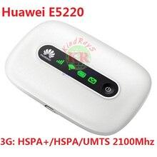 Unlocked 3g wifi wireless Router Huawei E5220 HSPA+ HSPA UMTS 2100Mhz PK E5330 E587 E5756 E5251