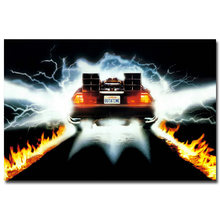 Back to the future Car 1 2 3 Classic Movie Art Silk Poster 13x20 24x36 Pictures For Living Room Wall Decoration 007(China)